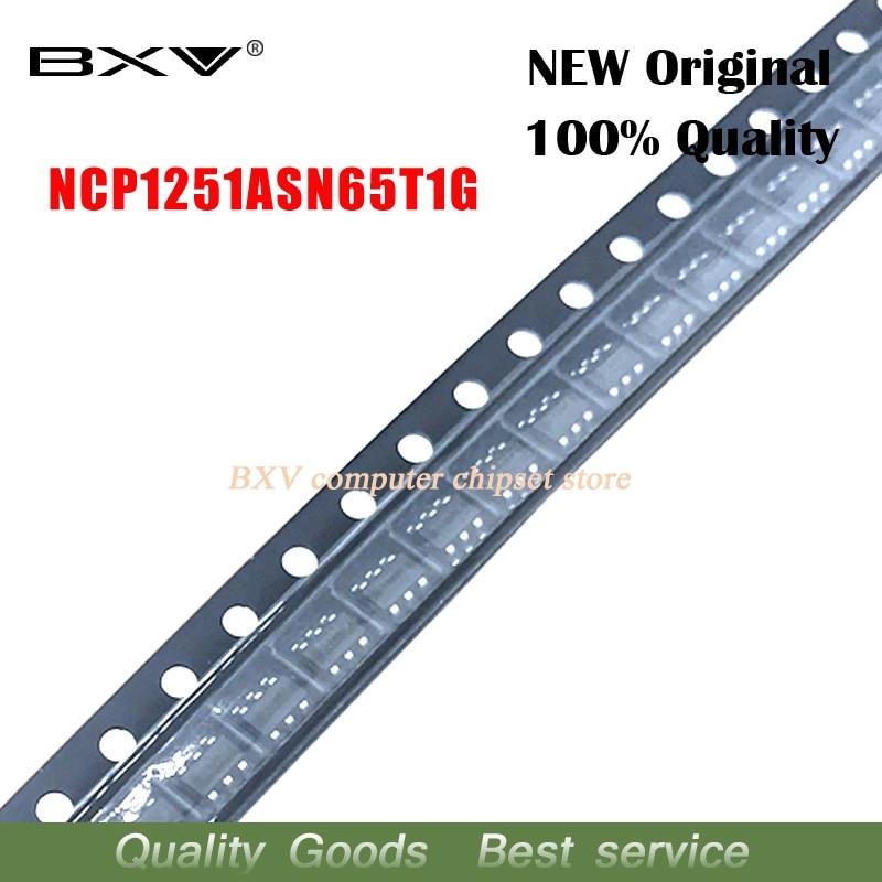 10 шт., NCP1251, NCP1251ASN65T1G, NCP1251A, переменный/постоянный ток, 100% новый, оригинальный, бесплатная доставка