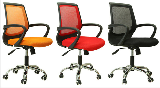 Big Promotion DIAS Mesh Swivel Desk Chair Seat Height Adjustable Computer Chair  Red Office Chair Easy