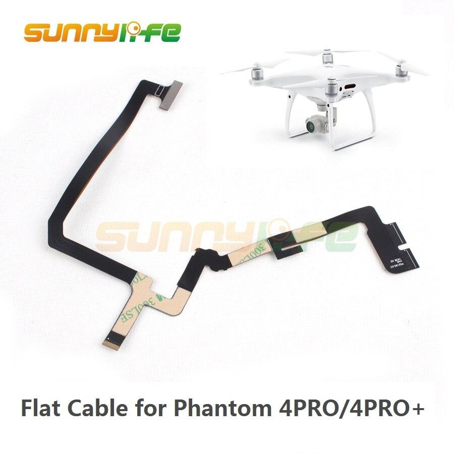 Gimbal reparación Cable Flexible cinta Cable plano para DJI Phantom 4 PRO y Phantom 4 PRO + Drone reemplazo Flex cable