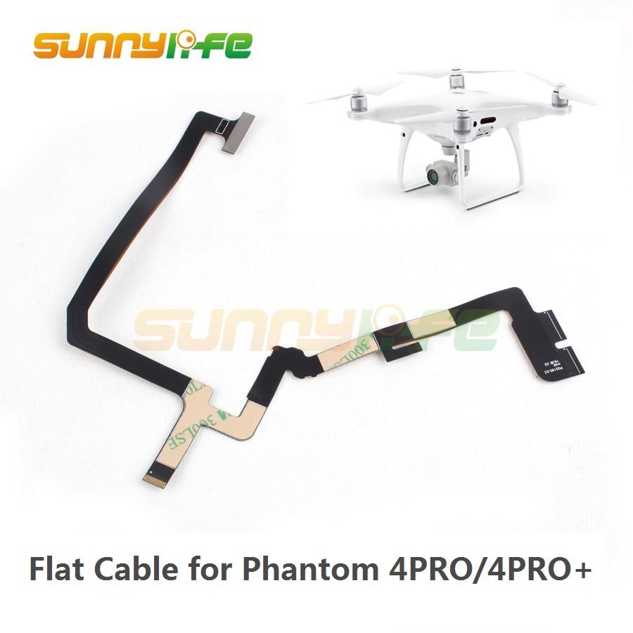 Giunto cardanico di Riparazione Cavo a Nastro Flessibile Cavo Piatto per DJI Phantom 4 PRO e Phantom 4 PRO + Drone Relacement Flex cavo