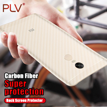 PLV Carbon Fiber 3D Soft Film For Xiaomi Redmi Note 4 4X 5A Film Clear Scratch-protection Back Film For Redmi 4 4A 4X 5A