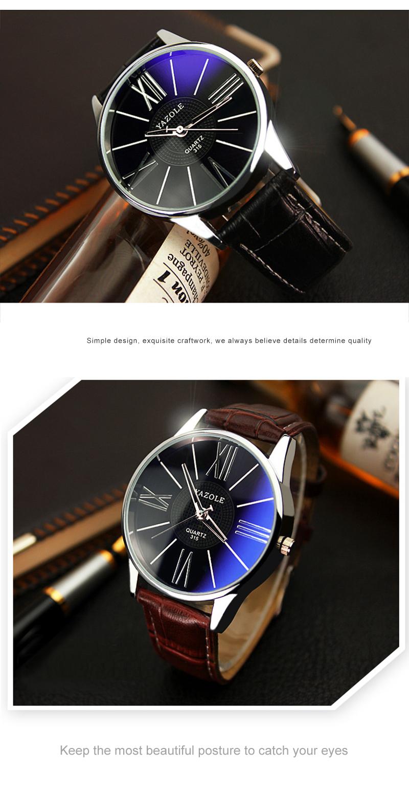 HTB1EL 2SpXXXXcRaXXXq6xXFXXXO - Mens Watches Top Brand Luxury 2018 Yazole Watch Men Fashion Business Quartz-watch Minimalist Belt Male Watches Relogio Masculino
