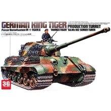 Tank-Model Tiger-Production German Tank-Assemling-Kits King 1:35-Scale 35164 Turret