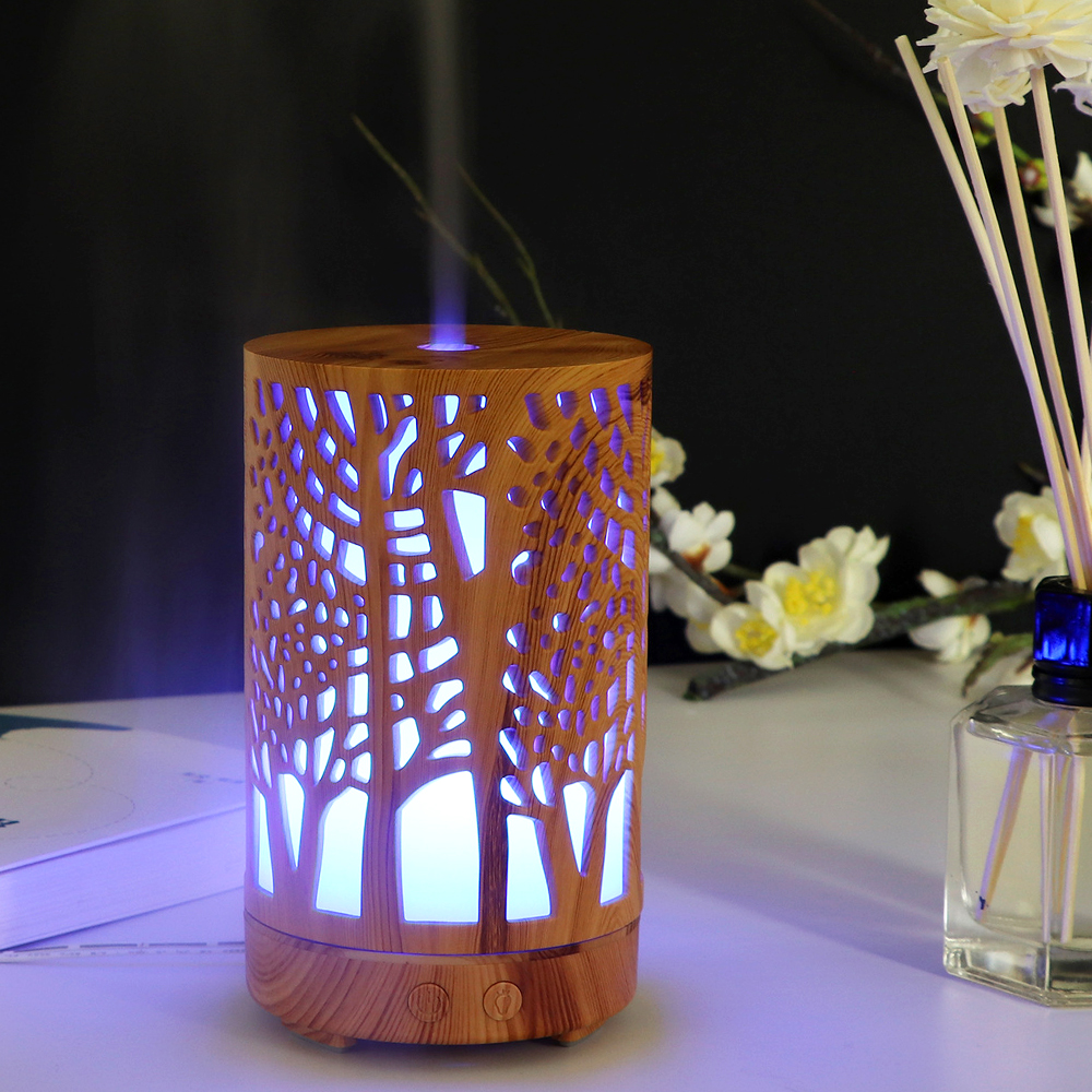 CHOLIDO Essential oil diffuser 100ml Household aroma humidifier mist bedroom office use