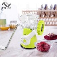 Ttlife متعدد الوظائف المنزلية مفرمة عالية الجودة المقاوم للصدأ شفرة السجق المفرمة مطبخ أداة