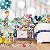 3d Cartoon  wallpaper mural children  room non woven 3d wallpaper  for kids room baby bedroom' wall  3D  wall sticker wallpaper 3