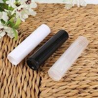 50/100 Pcs/Set Thời Trang DIY Rỗng Chai Lipstick Nhựa 5 gam Mẫu Mỹ Phẩm Container Son Bóng Dưỡng Môi Ống với Cap H
