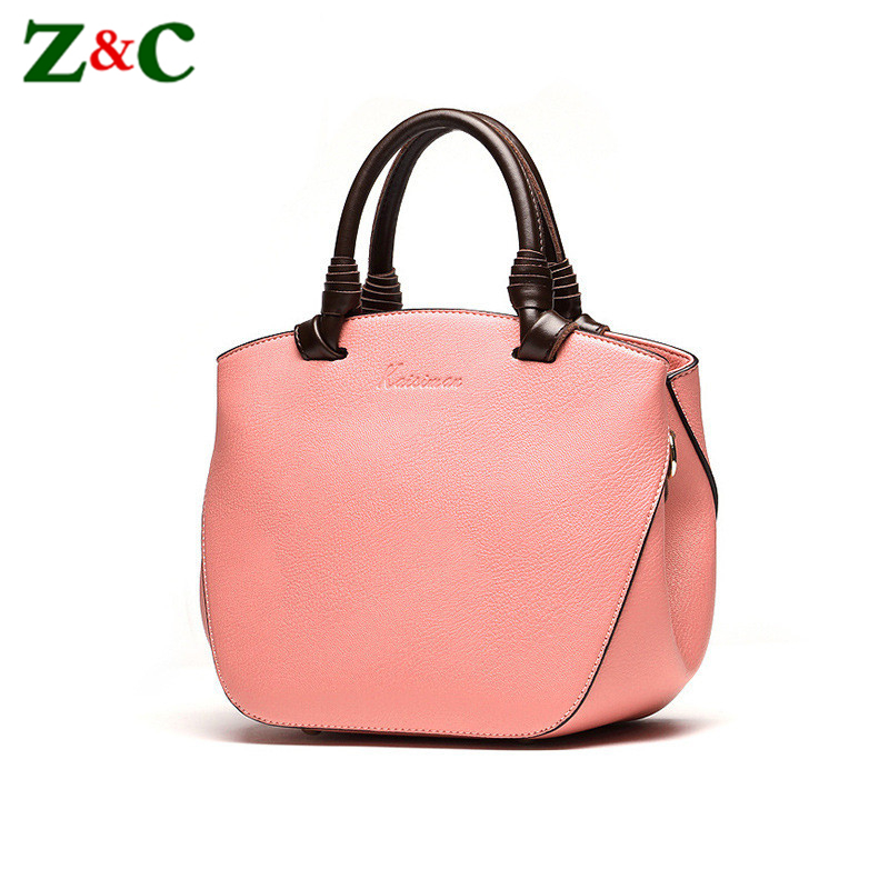 Famous Designer Women Handbag Genuine Leather Tote Bags Ladies High Quality Shoulder Bags Women Hand Bag Female Sac A Main Bolsa 2016 new european women handbag geniune leather bag famous brand designer messenger bag female high quality shoulder sac a main