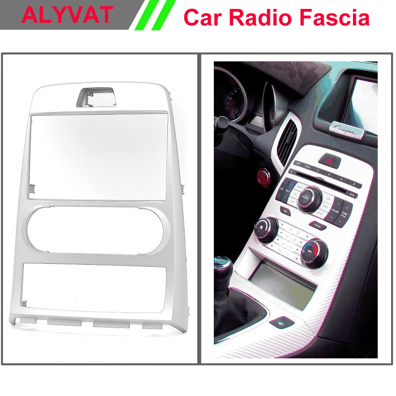 Car Audio radio Dash For HYUNDAI Genesis Coupe,Rohens Coupe(Manual Air-Conditioning)Stereo Facia Dash CD Trim Install Kit free shipping car refitting dvd frame dash cd panel for buick excelle 2008 china facia install plate ca4034
