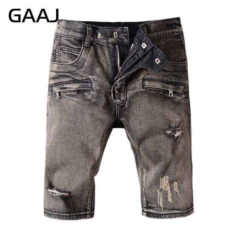 Popular Grey Denim Shorts-Buy Cheap Grey Denim Shorts lots from ...