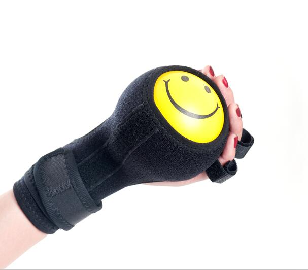 Free Shipping Finger Device Training Equipment Finger Wrist Hand Orthosis With Ball Stroke Hemiplegia Rehabilitation Assist arm muscle fitness equipment electronic hand grips gyro power ball flash wrist ball