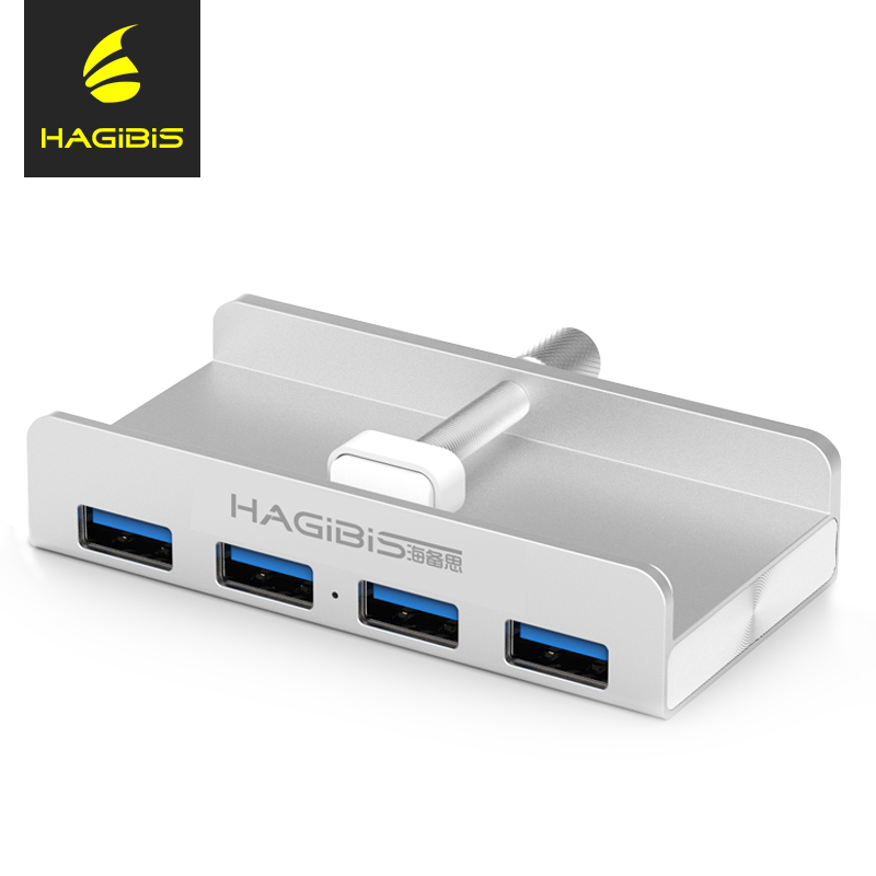 Hagibis Ultra thin USB 3.0 HUB 4 Port High-Speed Aluminum Usb Hub Splitter USB Power Interface for Computer Macbook Usb Hub цена