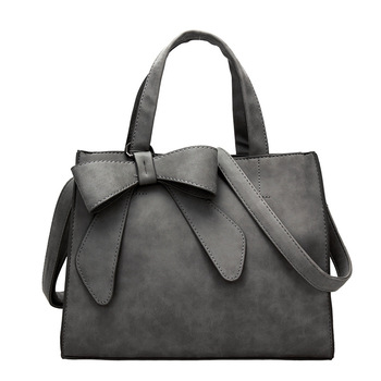 Fashion Women Handbags Cute Bow Bags Ladies Elegant Designer Suede Leather Shoulder Bags Women's Hand Bag Female sac a main