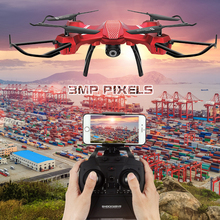Christmas gift kids drone WIFI Altitude Hold Headless Mode RC Drone Quadcopter rc Helicopter 3MP pixels drones with camera