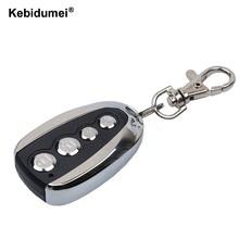 Kebidumei portão de clonagem controle remoto para porta da garagem produtos alarme carro chaveiro 433 mhz