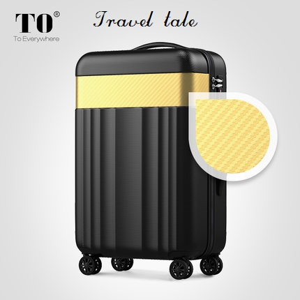 Travel tale Color stitching 20/22/24/26/28 inches ABS High quality Rolling Luggage Spinner brand Travel Suitcase travel tale color stitching 20 22 24 26 28 inches abs high quality rolling luggage spinner brand travel suitcase
