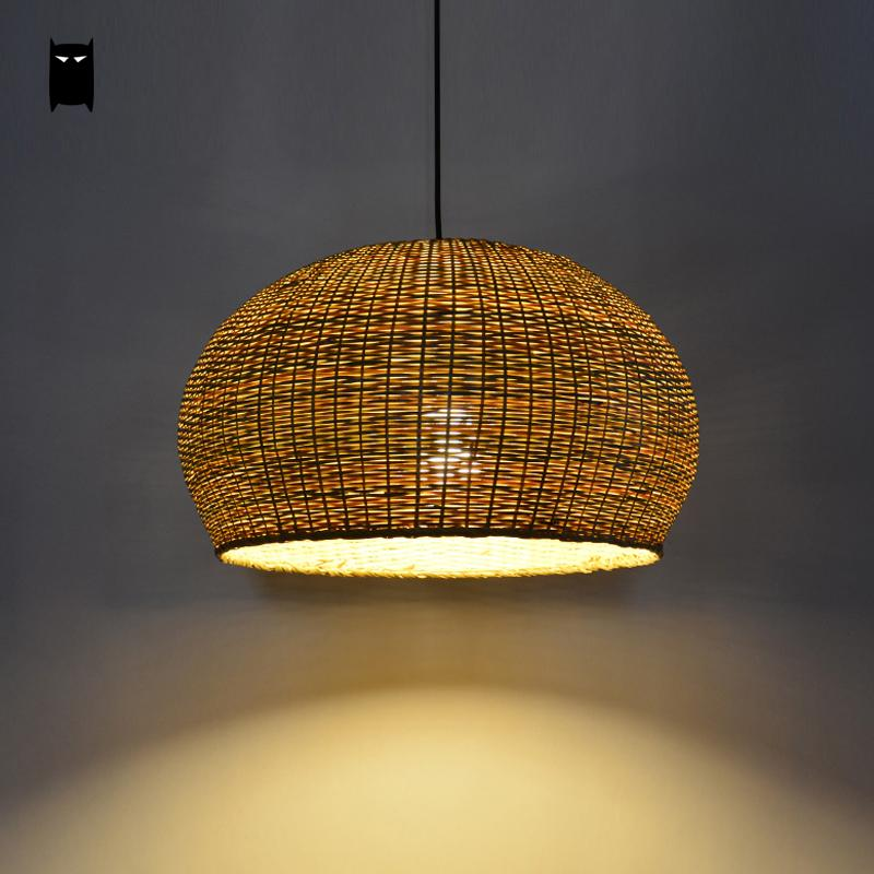 Rattan Pendant Light