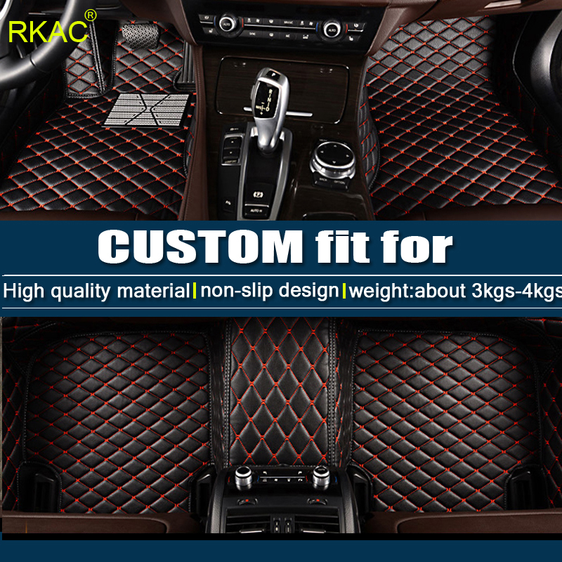 Car Floor mats For AUDI A1 A3 A4 A5 A6 A7 A8 Q3 Q5 Q7 TT Car styling Foot mats Custom carpets accessories rugs Carpet for car 2pieces set hella car horn snail type for audi a1 a3 a4 a6 a7 a8 q3 q5 q7 r8 tt tc16s