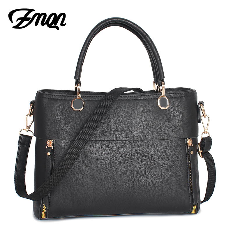 ZMQN Luxury Women Handbags High Quality PU Leather Designer Handbag For Ladies Famous Brand Fashion Shoulder Hand Bag <font><b>China</b></font> A822