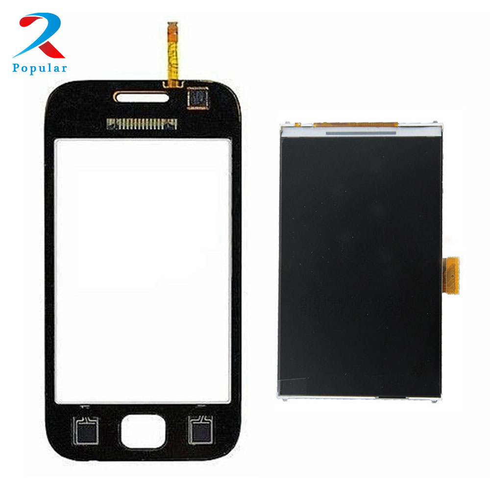 Für Samsung Galaxy Ace DUOS GT-S6802 S6802 Touchscreen Digitizer Sensor Glas + LCD Display Panel Monitor