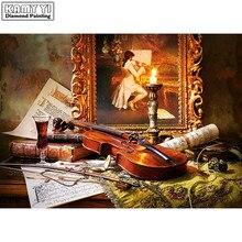 The Violin Diamond painting
