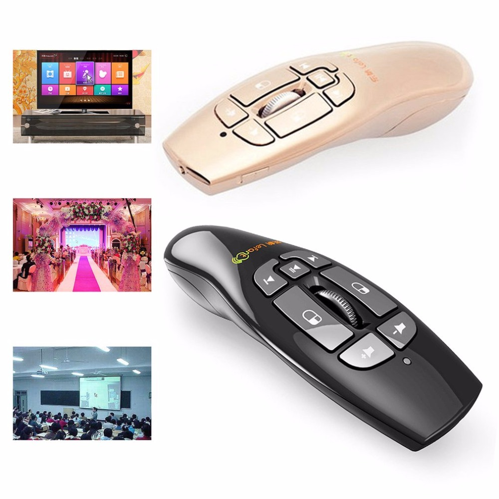 Lefant 2.4GHz Mini Wireless Air Flying Mouse Multimedia Somatosensory Remote Control USB Mouse with 8 Keys air swimmers helium remote control flying shark