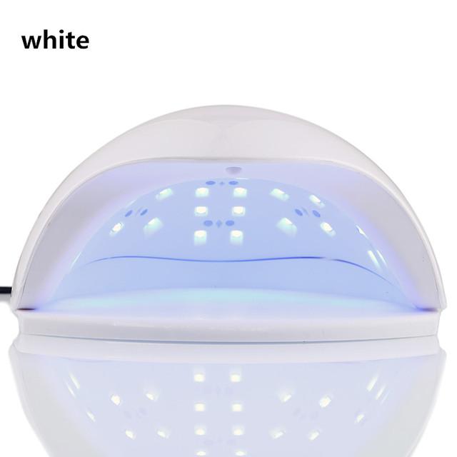 Auto Sensor 48W Professional 365+405nm UV LED Lamp Nail Dryer Polish Machine Fit Curing All Nail Gel Polish for Curing Nail Tool