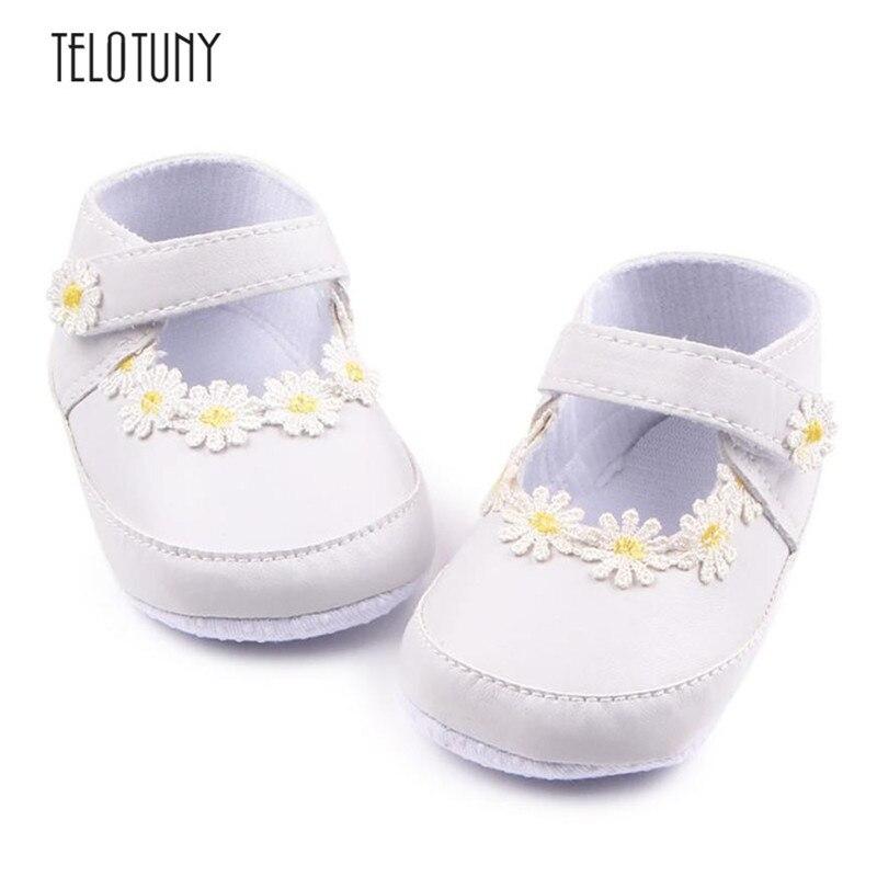 TELOTUNY Newborn Baby Girls Walkers Soft Bottom Fashion Baby Babies Non-slip Shoes Anti-slip Crib Shoes winter daily S3FEB15