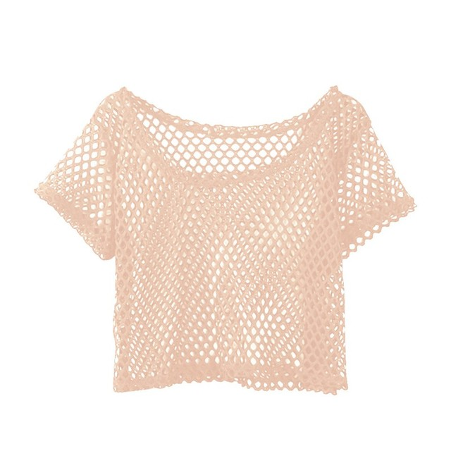 Mesh Top Women Summer...