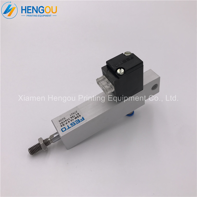 все цены на 1 Piece Free Shipping FESTO Solenoid Valve ESM-10-4-P-SA 61.184.1141 for Heidelberg SM102 CD102 printing machine онлайн