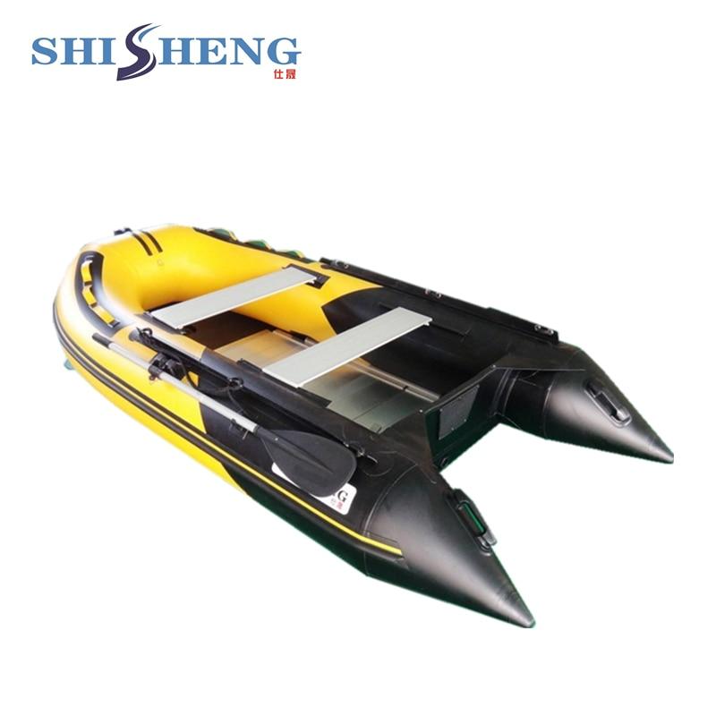Parduodamas didelės spartos pripučiamas nešiojamasis kateris - Vandens sportas - Nuotrauka 1