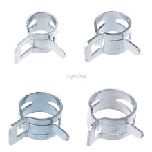 1 PC Computer Water Cooling Pipe Clamp Elasticity Clip For OD 8/10/12/13mm Hose Nov11 Drop ship(China)
