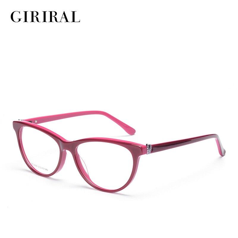 d9b463edd772 Acetate women Eyewear frames computer brand designer optical clear myopia  Frame glasses  BC3859