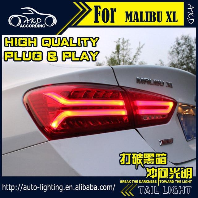 Akd Car Styling Tail Lamp For Chevrolet Malibu Light 2017 Xl Led Dynamic Signal