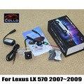 Para Lexus LX 570 LX570 2007 ~ 2009/Antiniebla Trasera Láser Especial lámpara/luces de emergencia/Accesorios de Automóviles de Freno Las Luces de Estacionamiento
