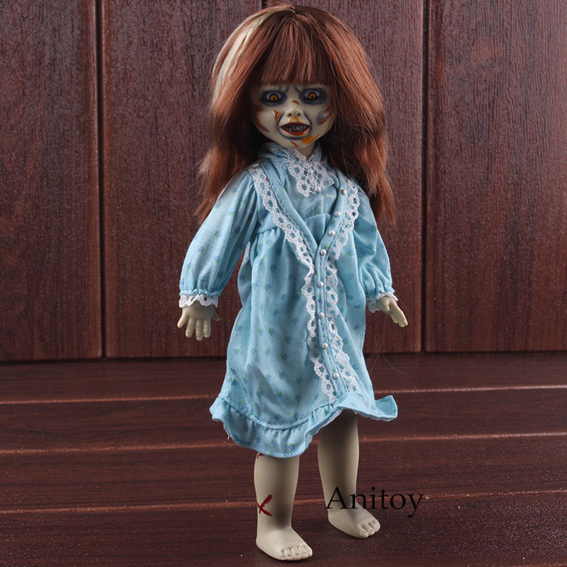 цена на MEZCO Living Dead Dolls Presents The Exorcist Horror Movie Figures Terror Figure Action PVC Collectible Model Toy