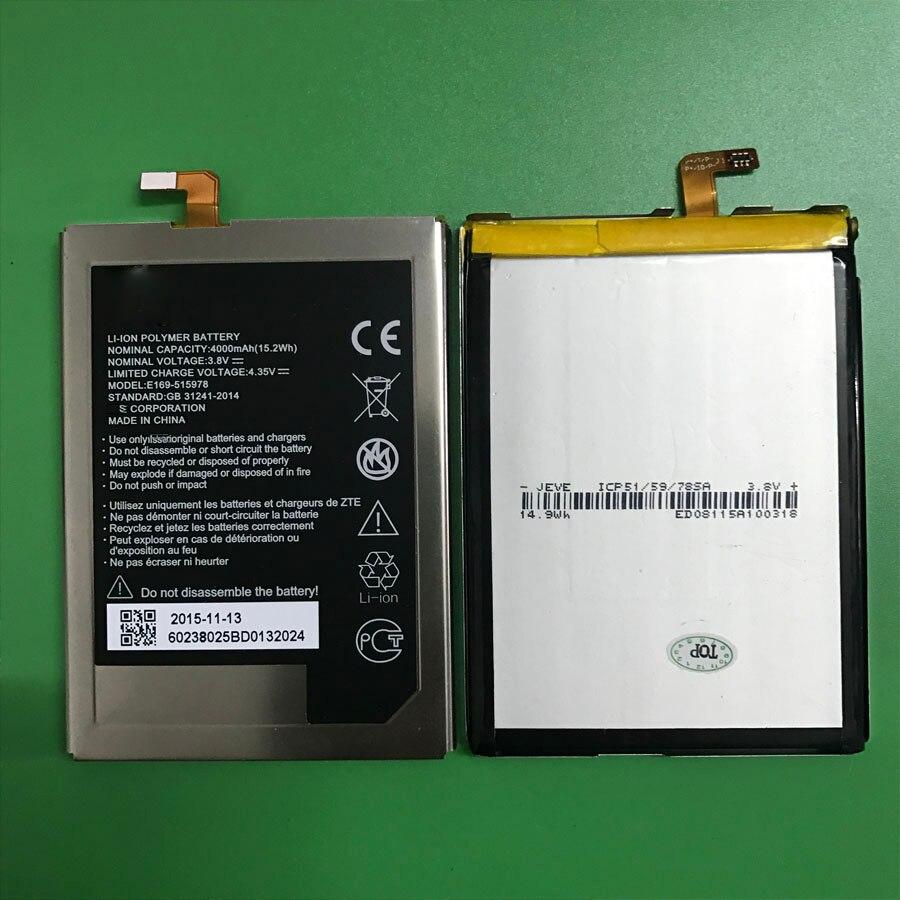 На складе wisecoco e169-515978 515978 4000 мАч аккумулятор для zte blade x3 q519t d2 a452 мобильного телефона bateria + номер для отслеживания