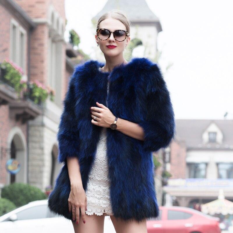Mince Peau Ventes Bleu Nouveau Chaud Chaude Lutte Raton De Mode Solide Jkp Couleur Manches Laveur 1029 Hpx 2018 D'hiver Manteau c4nfaw8Y1q