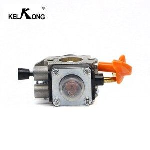 Image 5 - KELKONG Carburetor For Stihl FS87 FS90 FS100 Carb KM100 FS110 KM110 FS130 KM130 HT130 Trimmer Engine Replace ZAMA C1Q S173 S176