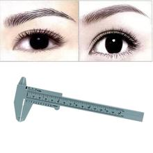Beauty Girl New Hot 1PC Microblading Reusable Makeup Measure Eyebrow Guide Ruler Permanent Tools Oct 27