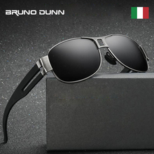 Bruno Dunn Sunglasses Men polarized Brand Design Sun Glases 2019 Sunglases oculo