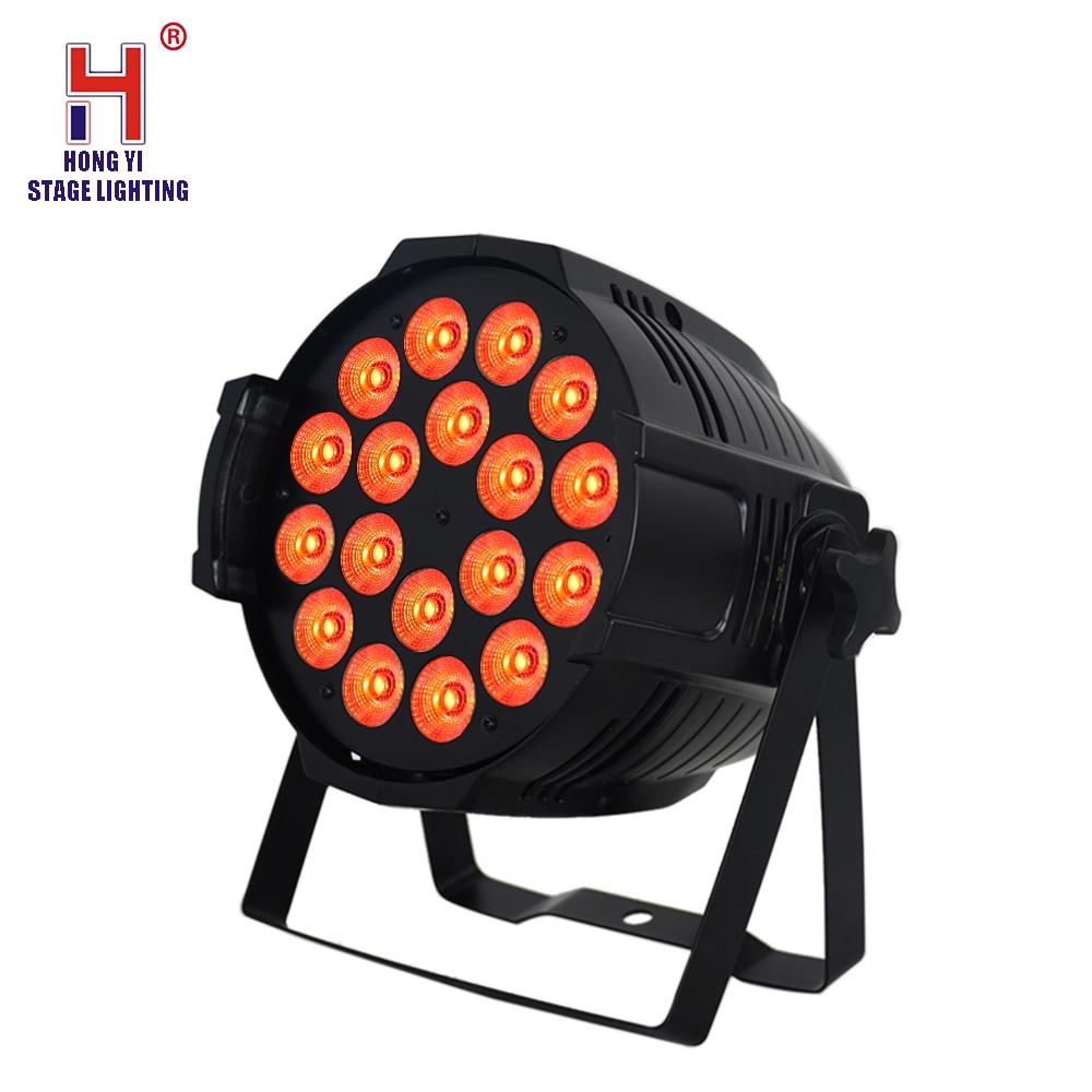 DMX 512 18x12 RGBW Stage Blinder Par Light Wash 18pcs Leds 12w 4in1 High Power Light
