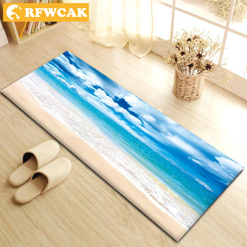 Modern Livingroom Bedroom Lobby Floor Mat Decorative Sofa