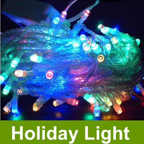 2set/lot 1X 10M 100leds Outdoor LED String Light LED ...