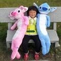 Dorimytrader 39'' / 100cm Japan Anime Stitch Pillow Doll Giant Stuffed Soft Plush Cartoon Toy 2 Colors Free Shipping DY60115