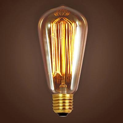 w e27 deco antigo lâmpadas de iluminação filamento