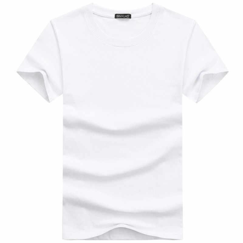 여름 남성 t-셔츠 클래식 짧은 소매 o-목 솔리드 컬러 느슨한 기본 Tshirt 캐주얼 휘트니스 남자 Bottoming 티셔츠 셔츠