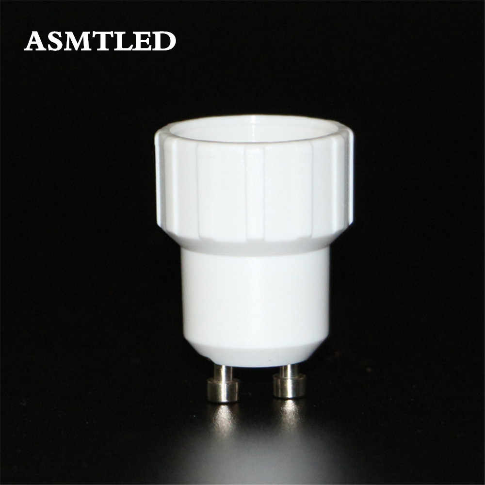 ASMTLED Brand GU10 to E14 Adapter Converter Led Halogen CFL light bulb lamp adapter GU10-E14 converter 1 Pcs/Lot lamps adapter