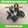 5 unids 37GA 37 GB motorreductor DC socket/soporte de aluminio del motor de Pasos/coche robot de montaje Horizontal