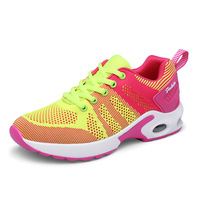 Sports Shoes For Women Female Breathable Cushion Shoes Woman Air Mesh Running Shoes Lightweight Travel Shoes Sneakers Yoga